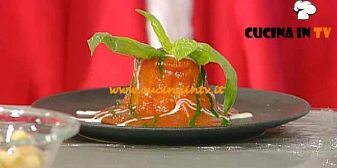 La Prova del Cuoco - Vesuvio di rigatoni ricetta Ialcarino