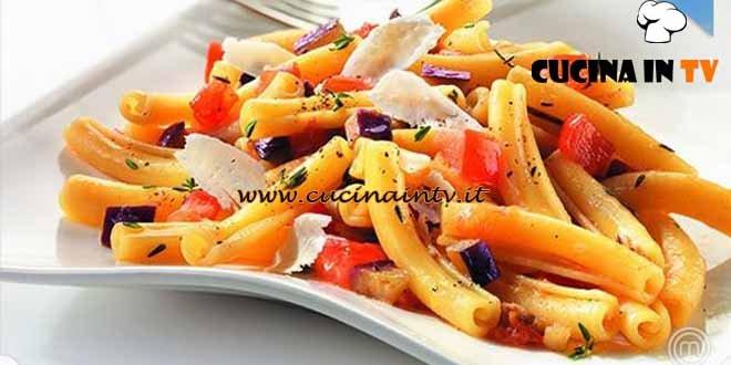 Masterchef 3 - ricetta Ziti arrotolati con melanzane e ricotta salata