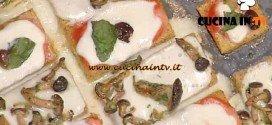 La Prova del Cuoco - Pizzette di polenta taragna ricetta Mainardi