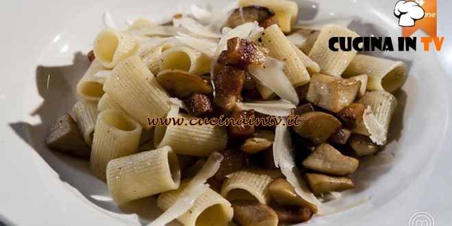 Masterchef 4 - ricetta Amatriciana bianca ai cardoncelli di Chiara