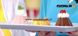 Dolci dopo il Tiggì - ricetta Budino panna e fragole