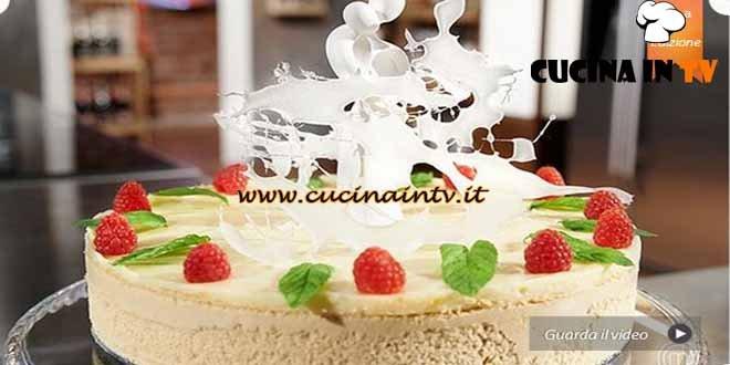 Masterchef 4 - ricetta Bavarese nuziale di Marco Scaglione