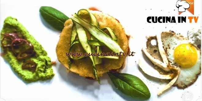 Masterchef 4 - ricetta Bufala senza carrozza di Carmine