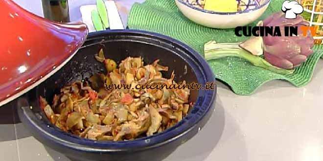 La Prova del Cuoco - Caponata di carciofi ricetta Moroni