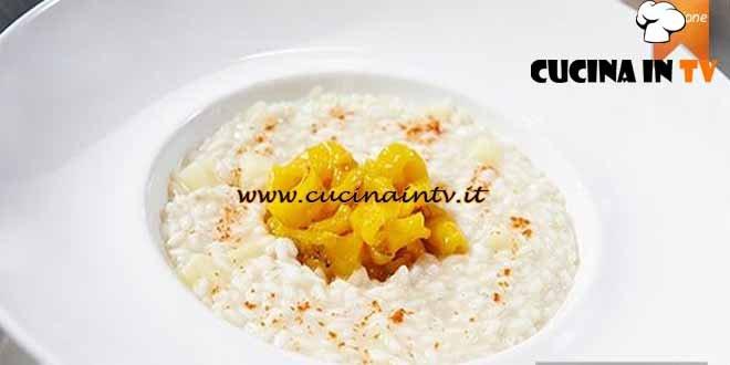 Masterchef 4 - ricetta Carnaroli con patate e trippa di baccalà di Christian e Manuel Costardi