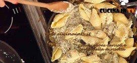 La Prova del Cuoco - Conchiglioni con carciofi e besciamella di ricotta ricetta Bianchi