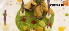 Masterchef 4 - ricetta Cozze in giardino di Nicolò