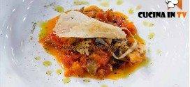 Masterchef 4 - ricetta Creste di gallo in umido di Valentina