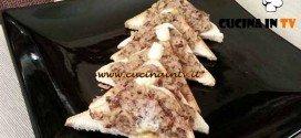 Cotto e mangiato - ricetta Crostini con patè di sgombro e radicchio
