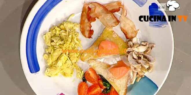 La Prova del Cuoco - English Breakfast ricetta Beretta