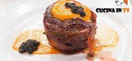 Masterchef 4 - ricetta Filetto di manzo in crosta di prosciutto al profumo di tabacco di Arianna