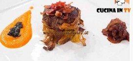 Masterchef 4 - ricetta Filetto in crosta di tabacco di Nicolò