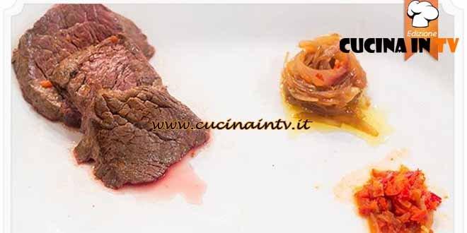 Masterchef 4 - ricetta Filetto in salsa di Chiara