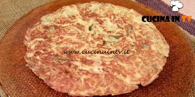 Cotto e mangiato - ricetta Frittata fagiolini e brie di Tessa Gelisio