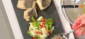 La Prova del Cuoco - ricetta Frittelle e insalatina di baccalà