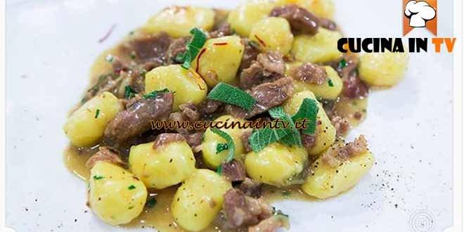 Masterchef 4 - ricetta Gnocchi di riso e zafferano con ragù di vitello e ossobuco di Viola