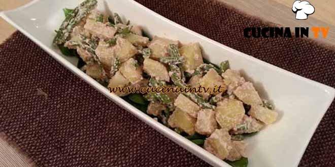 Cotto e mangiato - ricetta Insalata di patate spinaci e fagiolini di Tessa Gelisio