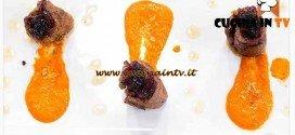 Masterchef 4 - ricetta Involtini al ricordo di genovese piccante con crema di peperoni rossi di Ilaria