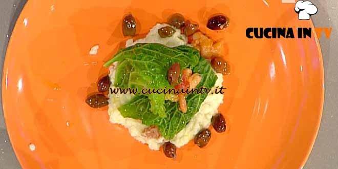 La Prova del Cuoco - Involtini di verza con cannellini all'uccelletto ricetta Marretti