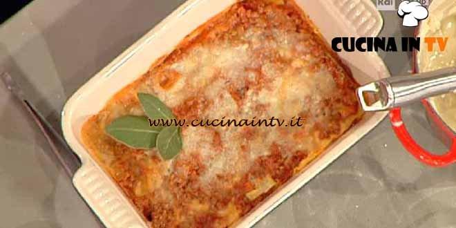 La Prova del Cuoco - Lasagna light ricetta Flachi