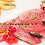 Masterchef 4 - ricetta Manzo con salsa di agrumi e bosco di Arianna