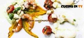 Masterchef 4 - ricetta Mozzarella di bufala ai colori del mediterraneo di Arianna
