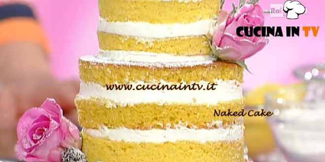 Dolci dopo il Tiggì - ricetta Naked cake