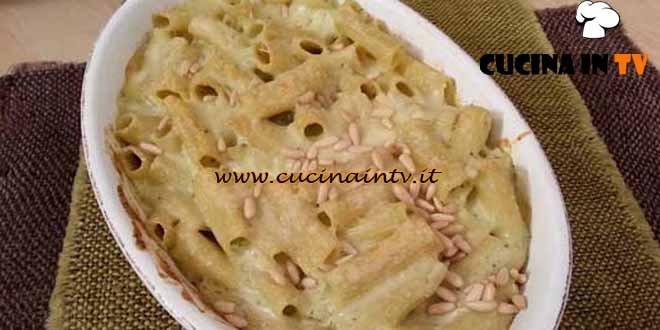 Cotto e mangiato - ricetta Pasta al forno bianca al pesto di Tessa Gelisio