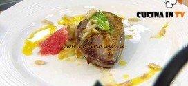 Masterchef 4 - ricetta Petto di pernice al pompelmo di Arianna