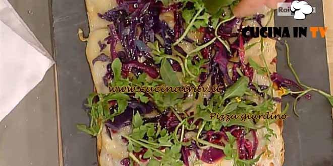 La Prova del Cuoco - Pizza giardino ricetta Bonci