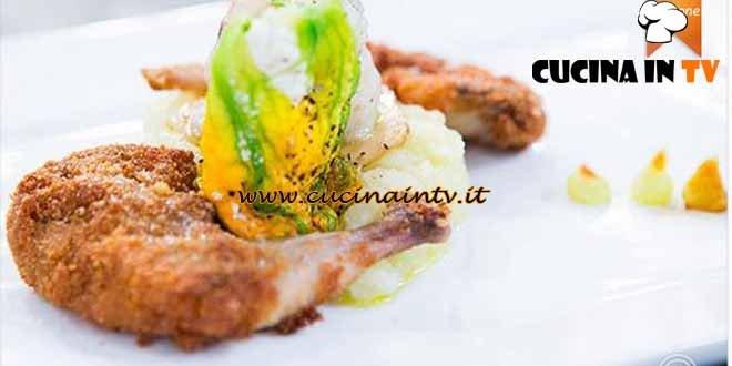 Masterchef 4 - ricetta Quaglia in tempura di Chiara