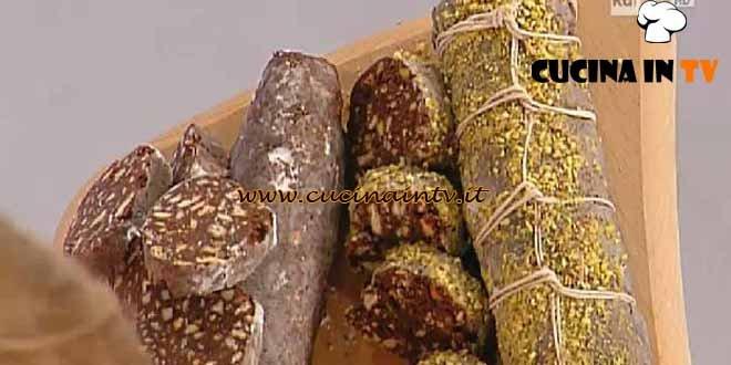 Dolci dopo il tiggì - ricetta Salame al cioccolato