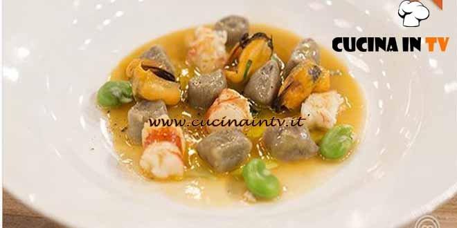 Masterchef 4 - ricetta Sapore di mare di Federica