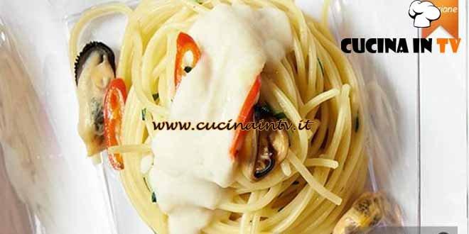 Masterchef 4 - ricetta Spaghetti cozze e cannellini di Raffaele Lenzi