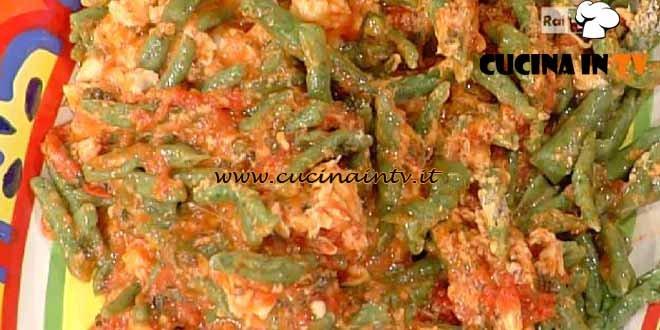 La Prova del Cuoco - Strigoli verdi pomodoro e mozzarella ricetta Spisni