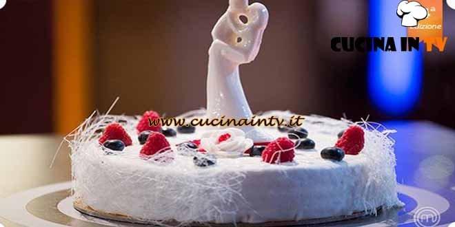 Masterchef 4 - ricetta Torta nuziale di Nicolò
