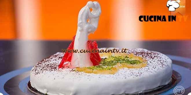 Masterchef 4 - ricetta Torta nuziale di Paolo