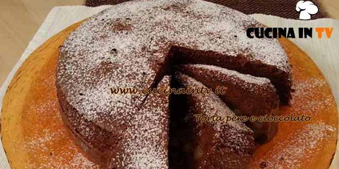 Cotto e mangiato - ricetta Torta pere e cioccolato di Tessa Gelisio