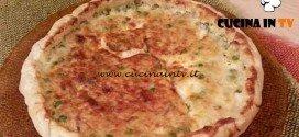Cotto e Mangiato - Torta salata piselli sgombro ricetta Tessa Gelisio