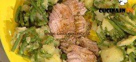 La Prova del Cuoco - Vitello al rosmarino con fagiolini e patate ricetta Clerici