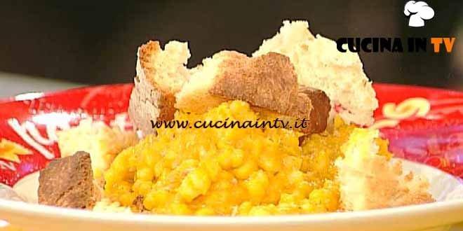 La Prova del Cuoco - Zuppa d'orzo alla forchetta ricetta Bianchi
