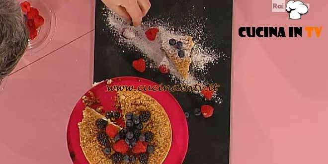 Dolci dopo il Tiggì - ricetta Cheesecake ai frutti di bosco