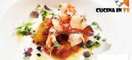 Masterchef 4 - ricetta Chutney di pomodori e mango con gamberi rossi di Mazara di Bruno Barbieri