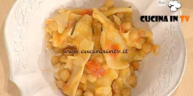 La Prova del Cuoco - Ciceri e trie ricetta Moroni