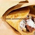 Masterchef 4 - ricetta Cono di piada di segale con strinù di Giancarlo Morelli