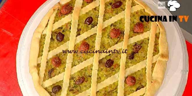 Foto tratta dalla trasmissione di cucina La Prova del Cuoco in onda su Rai Uno