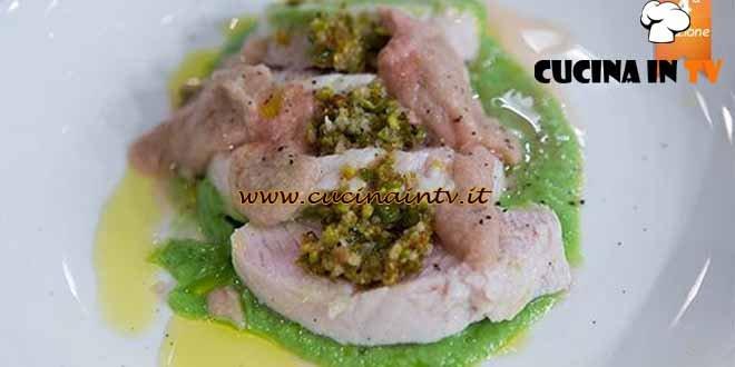 Masterchef 4 - ricetta Filetto di tacchino in olio cottura di Paolo