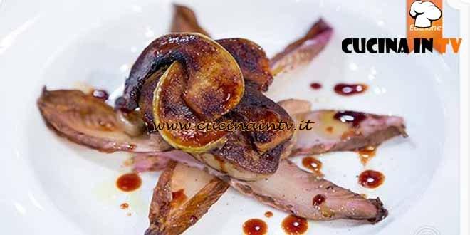 Masterchef 4 - ricetta Fiore al foie gras di Filippo