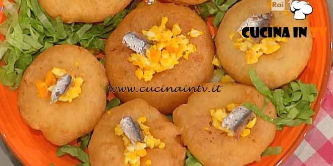 La Prova del Cuoco - Frittelle di stracchino ricetta Moroni