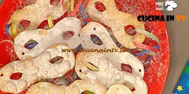 La Prova del Cuoco - Carnevale di Diego ricetta Bongiovanni
